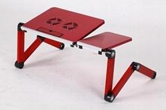 Easy folding table brack