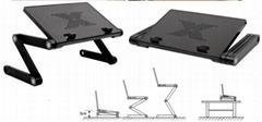 Plastic computer desk