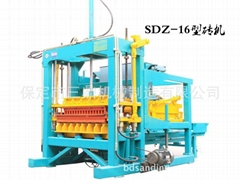 免烧砖机SDZ-16