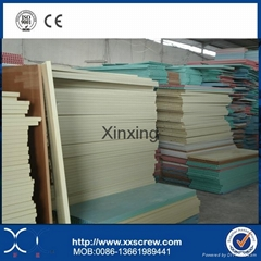 PVC door board extruder