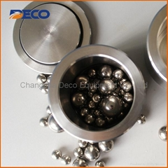 0.1L Grade 304 Stainless Steel Lab Planetary Ball Mill Jar