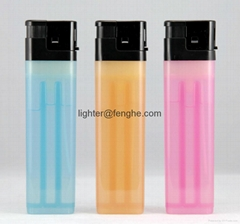 electronic plastic lighter