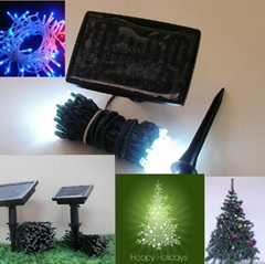 24M 200 LEDs High-quality Christmas Gift Solar LED String Lamps Decoration Outdo