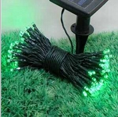 7m 50LEDs Solar String Lamp For Holiday Christmas Party Decoration 8 Mode Flash