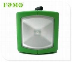 Green Housing Solar Lamp Garden LED Solar Light System Outdoor for Emergency Usi