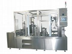 全自动直线式杯型豆浆灌装机