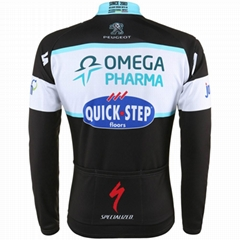 2014 New Design Long sleeve Cycling jersey