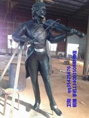 铜雕塑施特劳斯