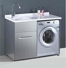 不鏽鋼洗衣機櫃