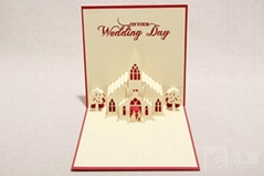 wholesale creative design 3D greeting cards