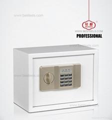 Small size code lock hotel key safe, hotel safe HDB-J26D1