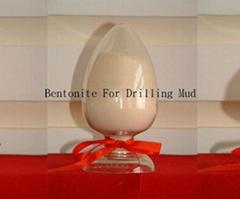 Bentonite for drilling mud and civil engineering