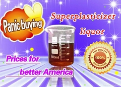 The slow-release polycarboxylic acid superplasticizer solution (high slump loss