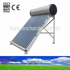 Vacuum Tube Color Steel Solar Water Heater