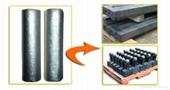 TiC Cermet Rod for High Manganese Steel Crusher Hammer