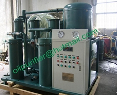 Vacuum Lubricant Oil Purifier filtration machine