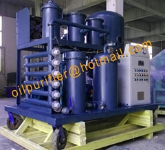 Waste Hydraulic Oil Purifier Filtering Unit