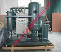 Emulsified Gas Turbine Oil Purification plant