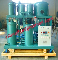 Vacuum Oil Purifier Equipment and Dehydration Plant