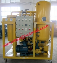 Explosion-proof Turbine Oil Purifier by Vacuum Dehydration and Filtration