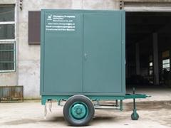 Portable trailer type tr