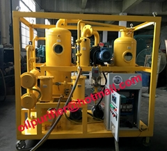 Vacuum Insulation Transformer Oil Regeneration Purifier machine