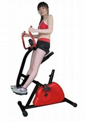 Exercise Bike with Horse