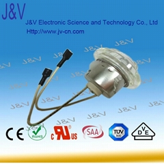 E14 25 W Good bargain for popular China DongGuan J&V halogen lamp with glass fib