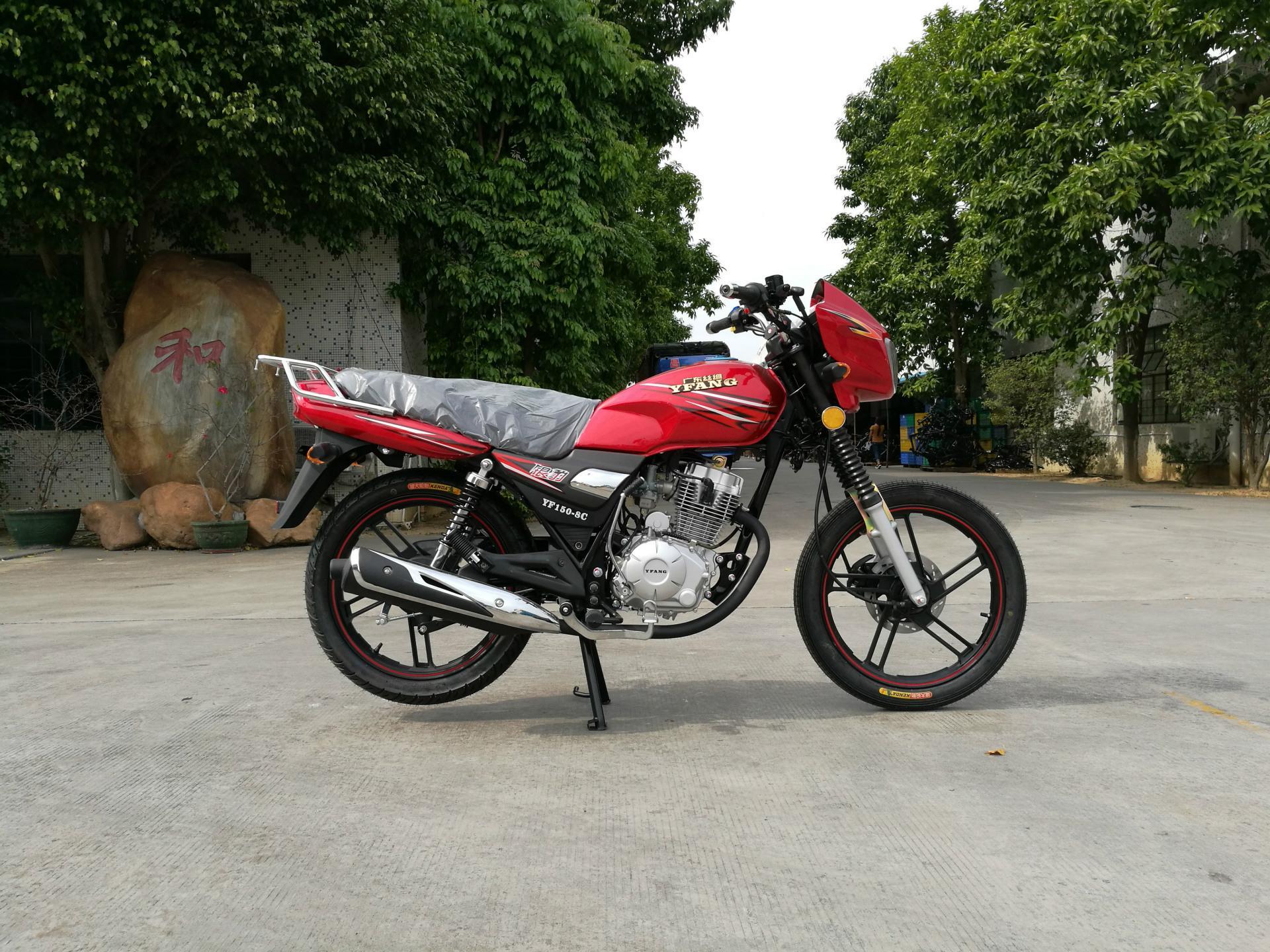 可與鈴木互換的高品質GS125型HJ125-7A銀豹出口摩托車 1