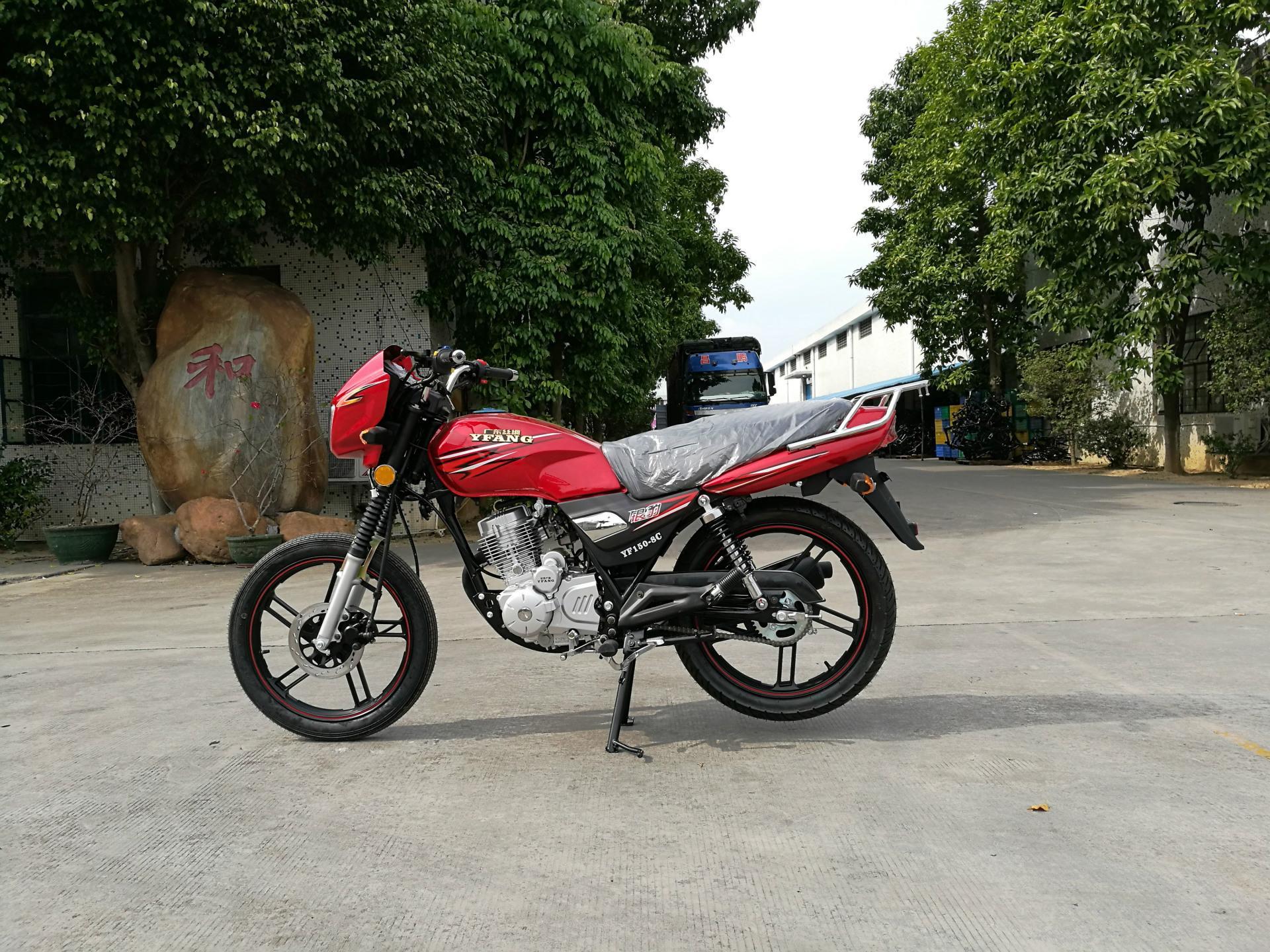 可與鈴木互換的高品質GS125型HJ125-7A銀豹出口摩托車 4