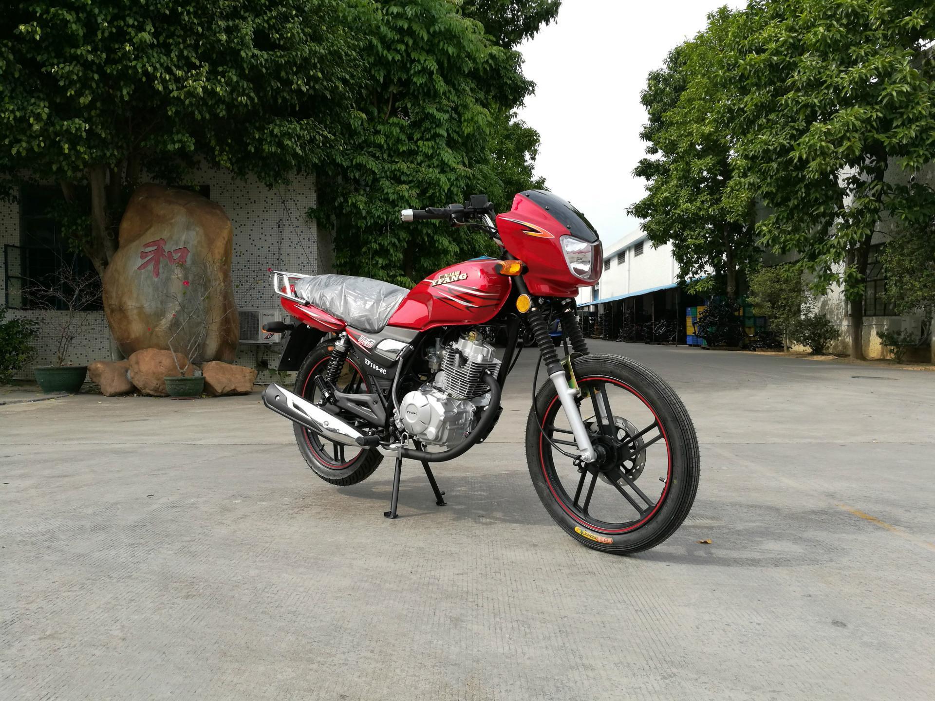 可與鈴木互換的高品質GS125型HJ125-7A銀豹出口摩托車 5