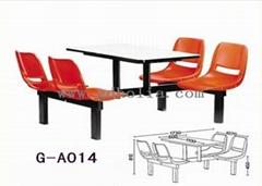 快餐店餐厅桌椅家具