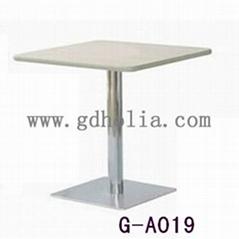 不鏽鋼餐桌餐台