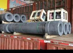 High Power Nominal Diameter 80 mm graphite electrodes price in resistance furnac