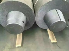 High Power Nominal Diameter 86 mm graphite electrode backing for making copper m