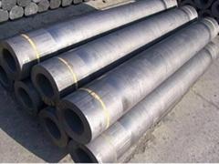 RP Nominal Diameter 76 mm graphite electrode cylinder rod for making ferroalloy