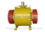 Forged Steel Trunnion Mounted Ball Va  es 1
