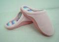 GCE002 Soft Coral fleece comfortable winter indoor slippers 3