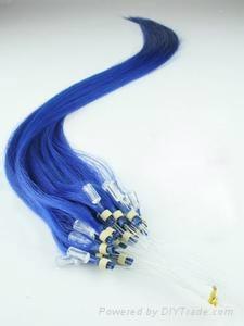 Micro ring loop hair extension 1