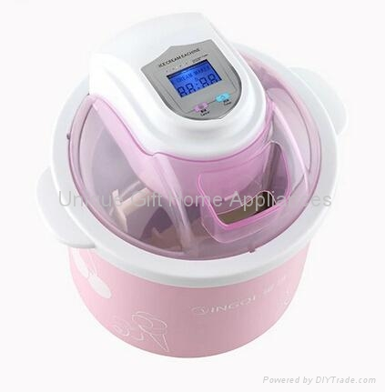 1.5L Self-Cooling Type ice cream maker for home use 1