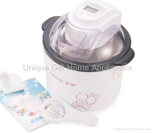1.5L Self-Cooling Type ice cream maker for home use 4