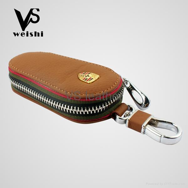 Fashion Leather Car Key Case 2