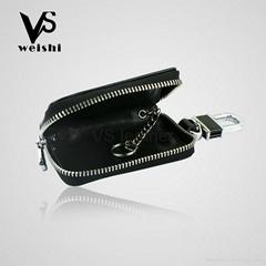 Fashion Leather Car Key Case