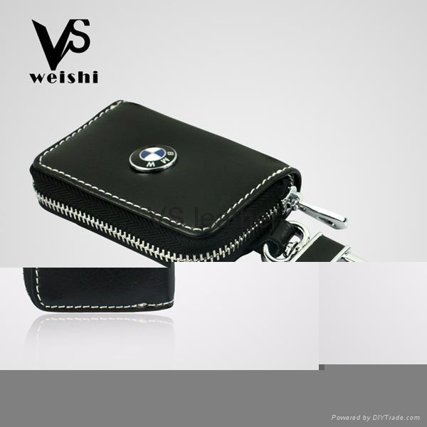Fashion Leather Car Key Case 5