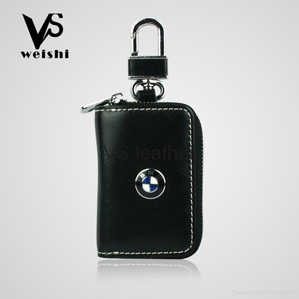 Fashion Leather Car Key Case 3