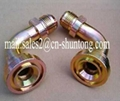 PIPE FITTING HOSE ADAPTER HYDRAULIC FITTING 45°SAE FLANGE 3000PSI 3