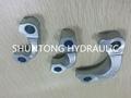 Elbow Flange Hose Adaptor Hydraulic Fitting 5
