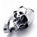 Skull Pendant, 316 Stainless Steel