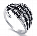 316 stainless steel ring, Punk 316