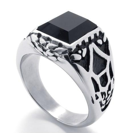 316 stainless steel jewelry, Classical Stainless Steel Casting Ring 1
